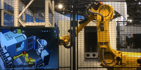 Digital Twin powered by FASTSUITE & FANUC & MAKINO