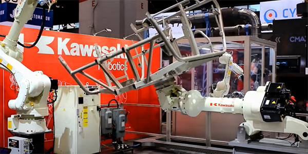 KAWASAKI Adaptive Arc Welding​ powered by FASTSUITE