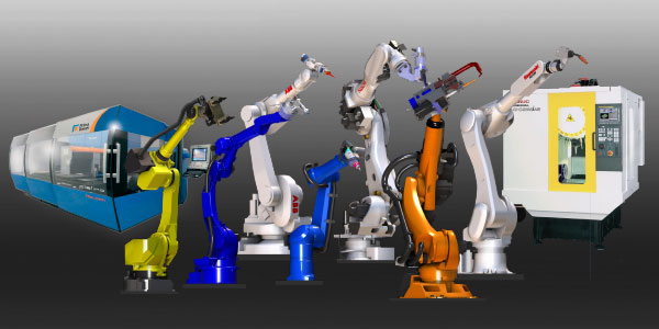 Robots and machines manufactures partners
